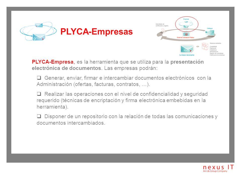 PLYCA-Catálogo, permite: Gestión y mantenimiento de un catálogo prospecto de bienes y servicios, con sus ofertas asociadas.