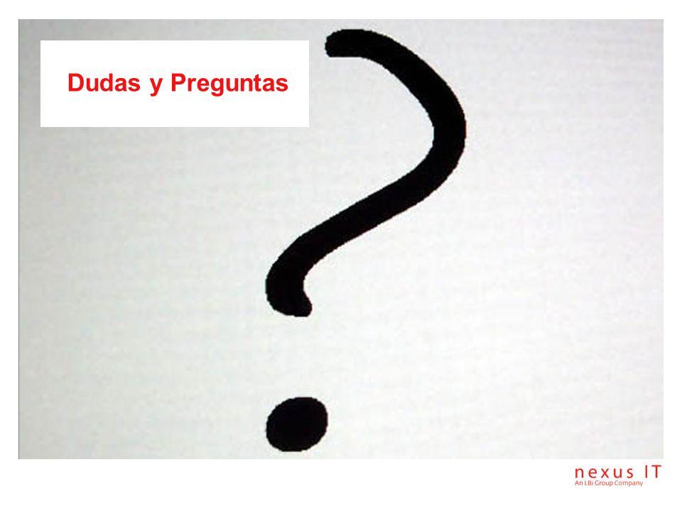 Gracias Perfecto Pino Responsable de Pre-Venta PLYCA Nexus IT C / José Echegaray, 6 - Edificio B planta 1º Parque Empresarial Las Rozas 28230 Las Rozas - Madrid Tel.