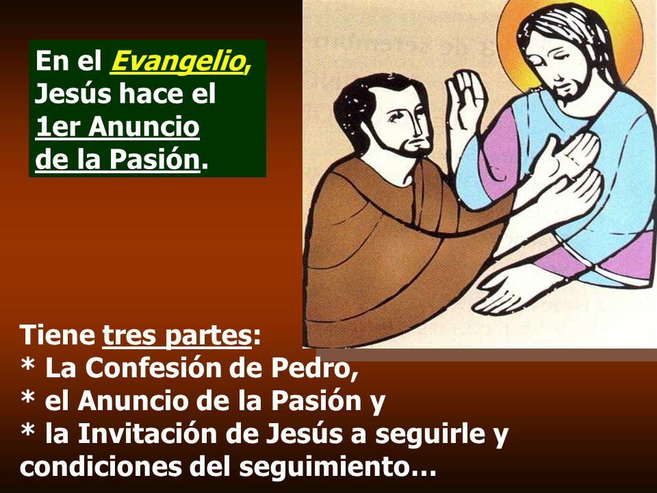 En la 2ª Lectura Santiago resalta que el seguimiento de Jesús se realiza con gestos concretos de amor, de participación, de servicio y de solidariedad