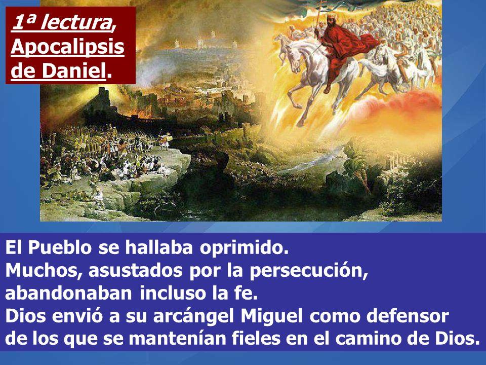 El Pueblo se hallaba oprimido.Muchos, asustados por la persecución, abandonaban incluso la fe.