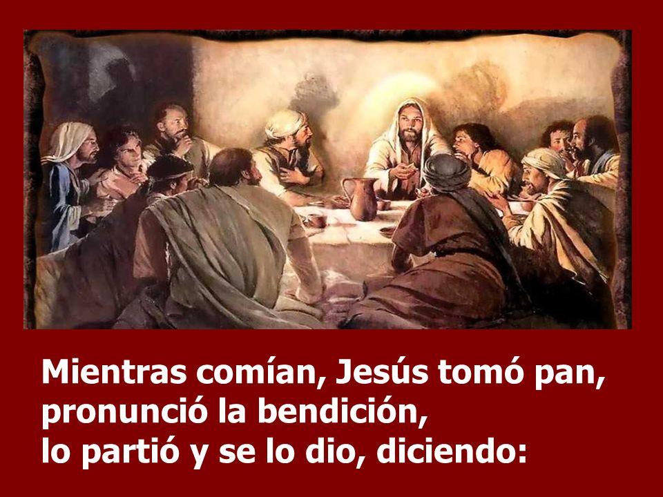 El Evangelio presenta las características esenciales del Sacrificio de Cristo. Cristo, da su vida como sacrificio de la Nueva Alianza y ratifica esa A