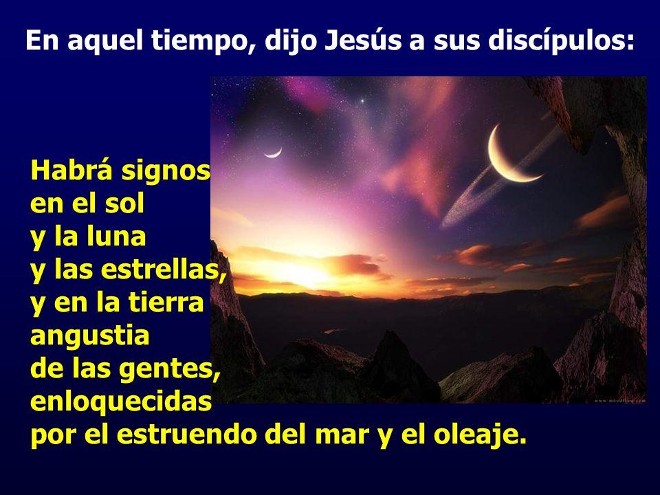 El cuadro del Evangelio pretende reavivar la ESPERANZA del nuevo día que surgirá: