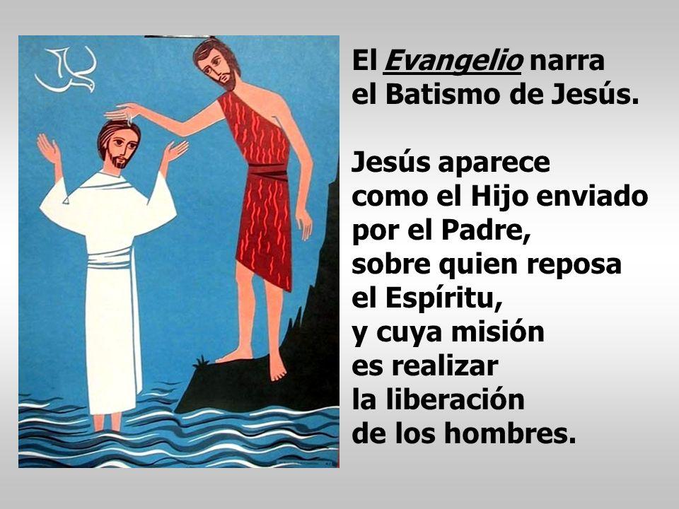 Pedro nos presenta a Jesús que una vez bautizado en el Jordán, fue ungido por el Espíritu Santo, y pasó haciendo el bien. En la 2ª Lectura Pedro nos p