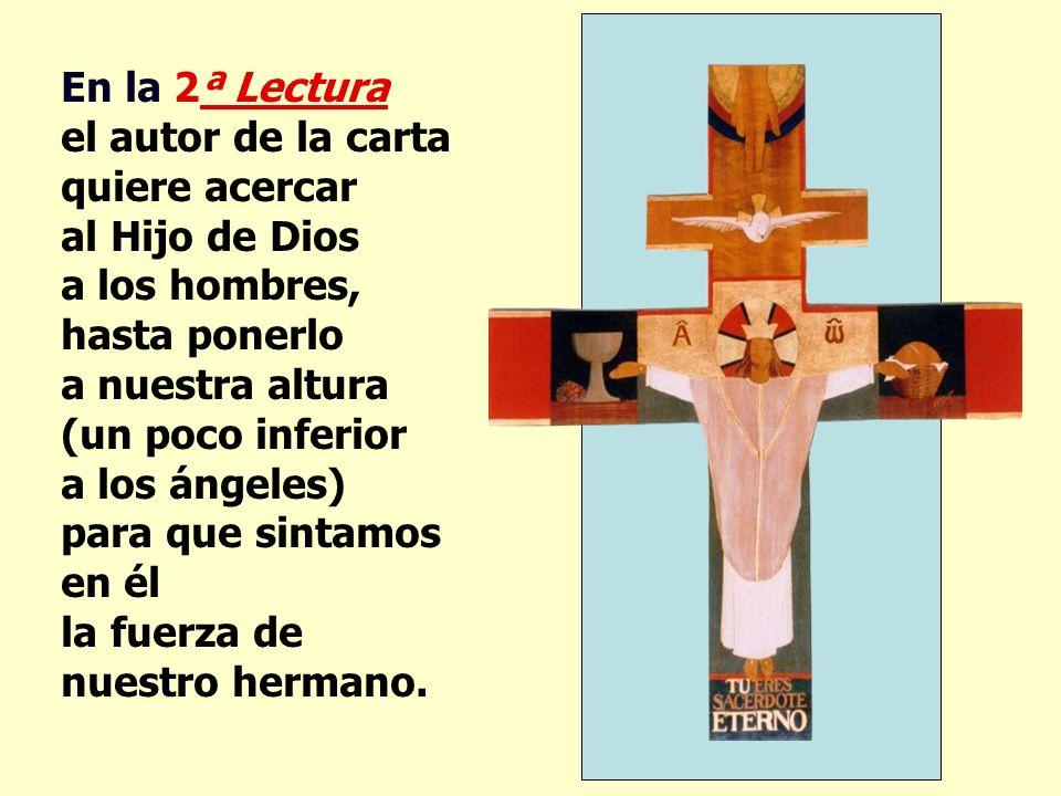 La 1ª Lectura presenta a Dios creando al Hombre y a la Mujer, para complementarse, para ayudarse, y para amarse.