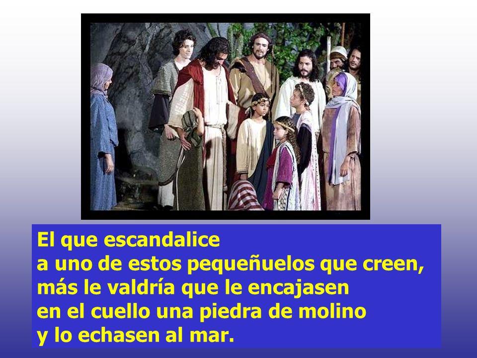 Y, además, el que os dé a beber un vaso de agua, porque seguís al Mesías, os aseguro que no se quedará sin recompensa.