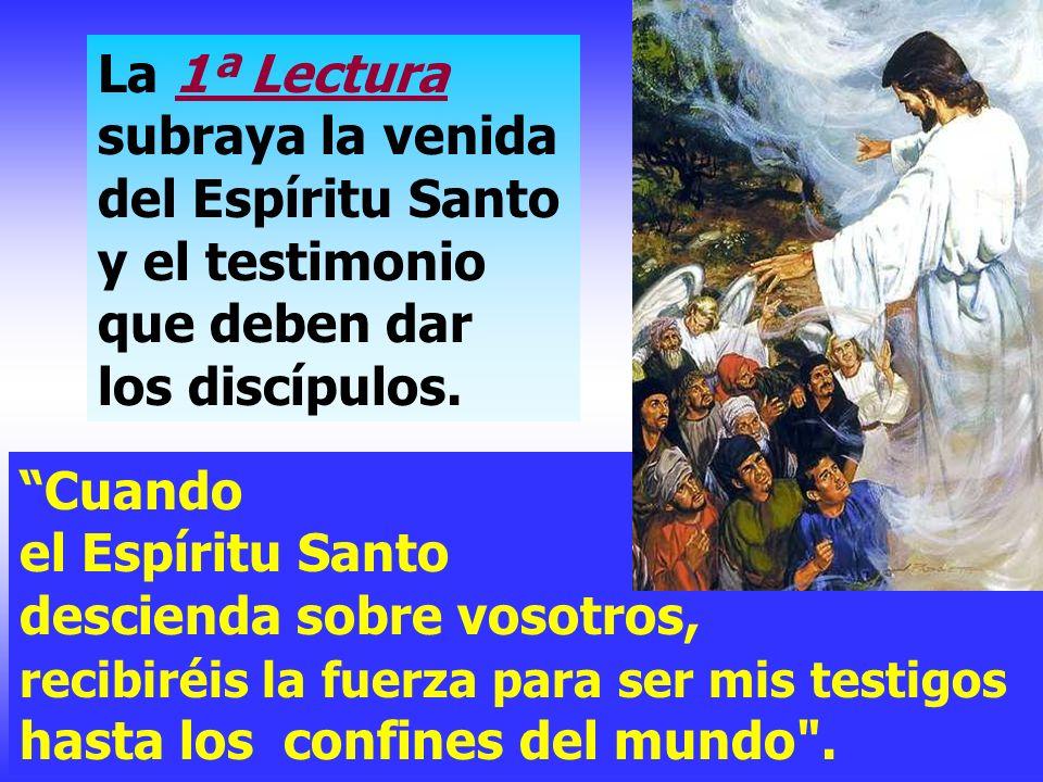 Celebramos hoy la fiesta de la ASCENSIÓN del Señor. Los últimos momentos de Jesús junto a los apóstoles y la vuelta de Cristo al Padre...