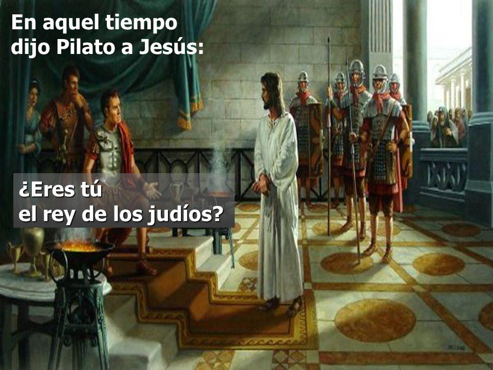La Liturgia, en el Prefacio, explicita el tipo de Reino que Jesús vino a traer: Reino de la VERDAD y la VIDA, Reino de la SANTIDAD y la GRACIA, Reino