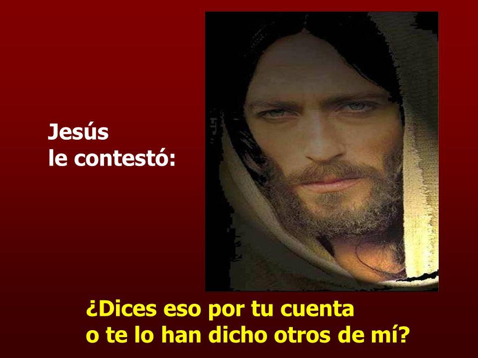 ¿Eres tú el rey de los judíos? En aquel tiempo dijo Pilato a Jesús: