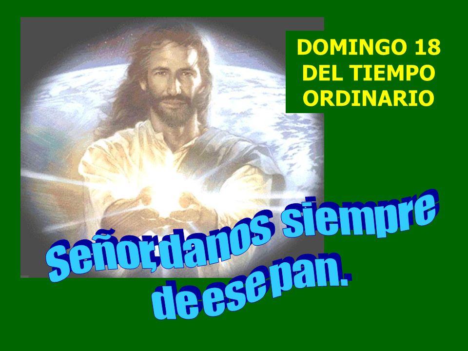 Jesús les contestó: Entonces le dijeron: Señor, danos siempre de este pan.