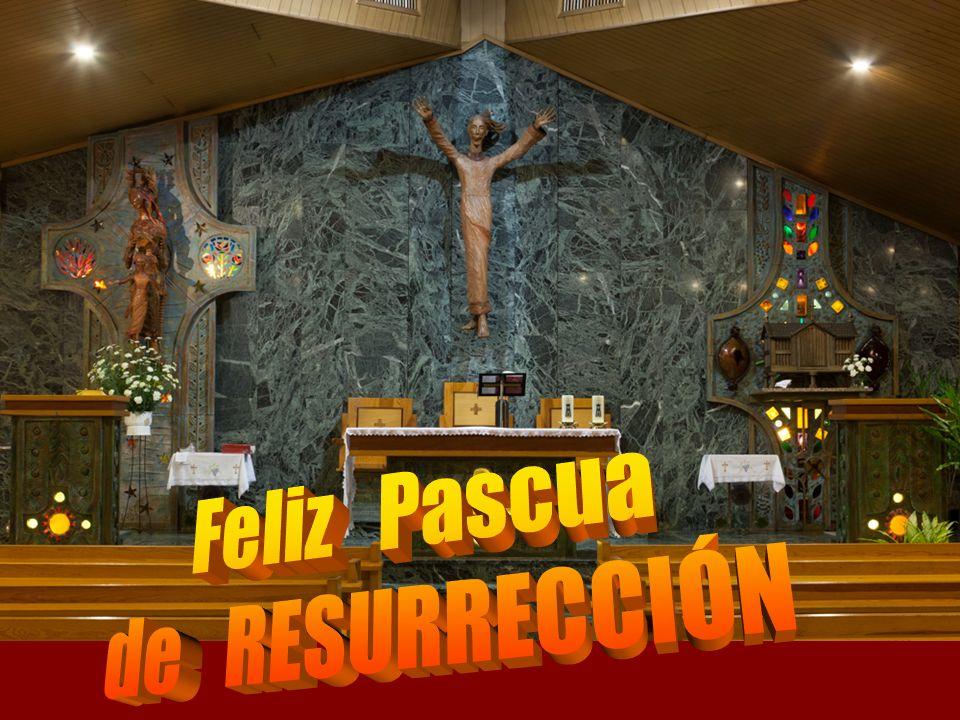 Ha sido inmolada nuestra víctima pascual: Cristo. Así pues, celebremos la Pascua.