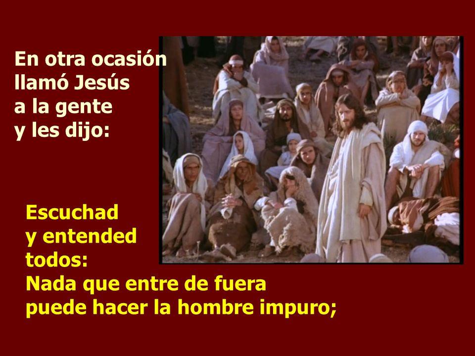 Dejáis a un lado el mandamiento de Dios para aferraros a la tradición de los hombres.