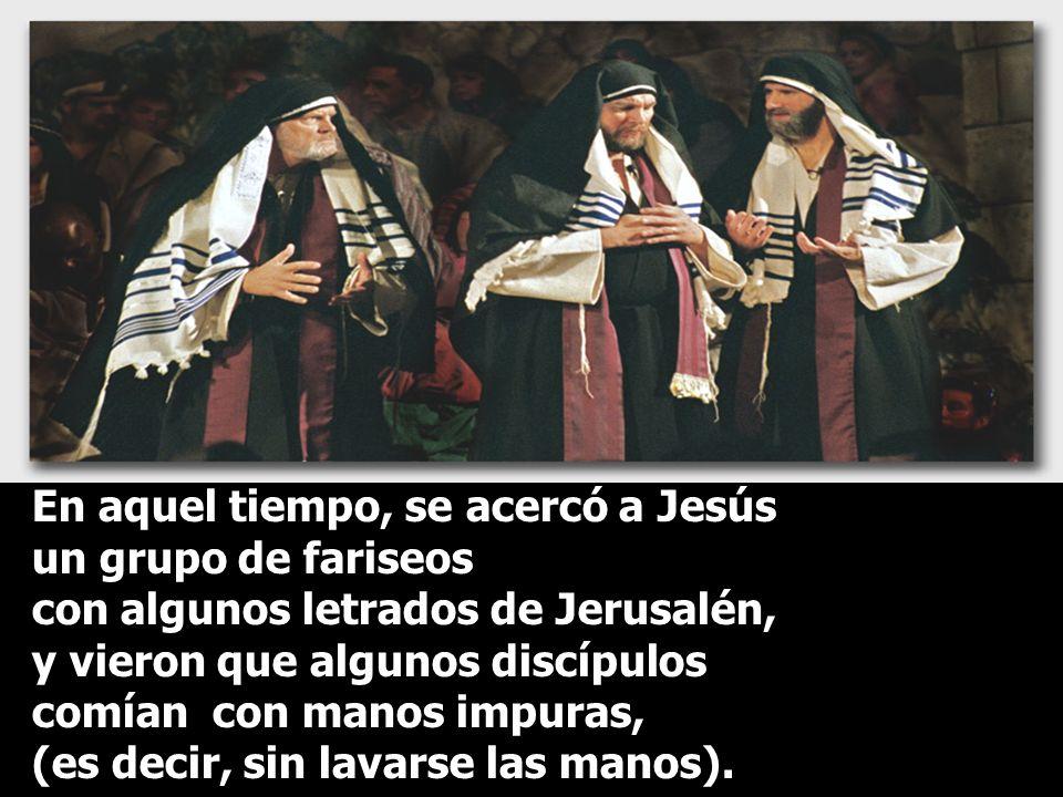 En el Evangelio, tenemos la actitud de CRISTO ante la LEY. Retomamos el Evangelio de Marcos...