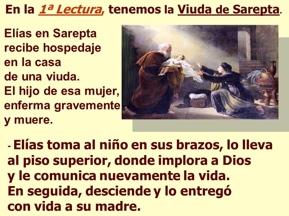 La Liturgia de hoy muestra que Dios es SEÑOR DE LA VIDA.