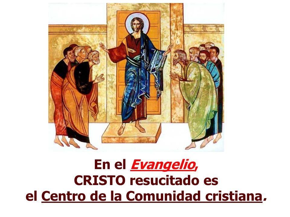 La 2ª Lectura presenta a Jesús caminando con su Iglesia. Yo soy el primero y el último, yo soy el que vive.