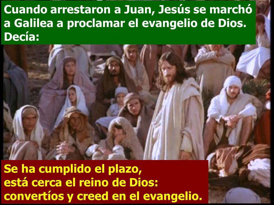 El texto presenta a Jesús al início de su vida pública.