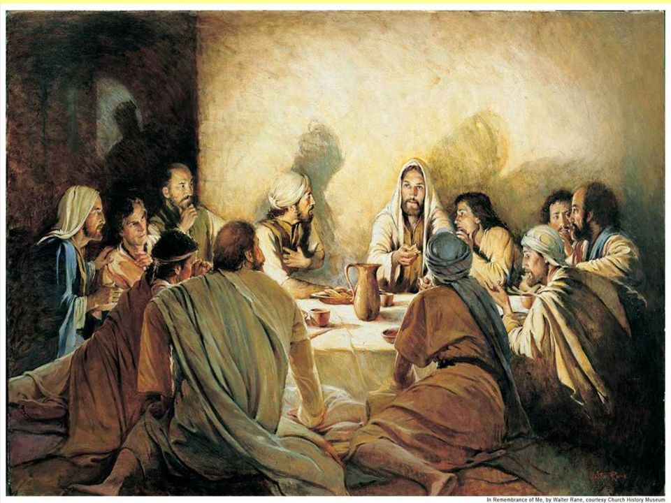Que os améis unos a otros como YO os he amado. En el Evangelio, Jesús, al despedirse de los discípulos, deja en testamento a la comunidad el MANDAMIEN
