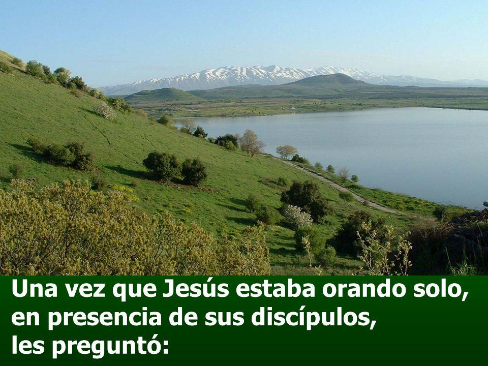 Oh Dios, tú eres mi Dios, por ti madrugo, mi alma está sedienta de ti; mi carne tiene ansia de ti, como tierra reseca, agostada, sin agua.