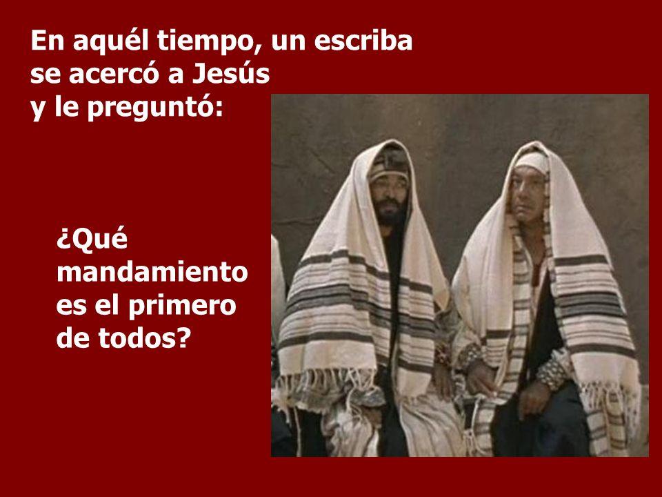 En tiempos de Jesús los rabinos discutían vivamente sobre la gradación de los mandamientos. Evangelio: