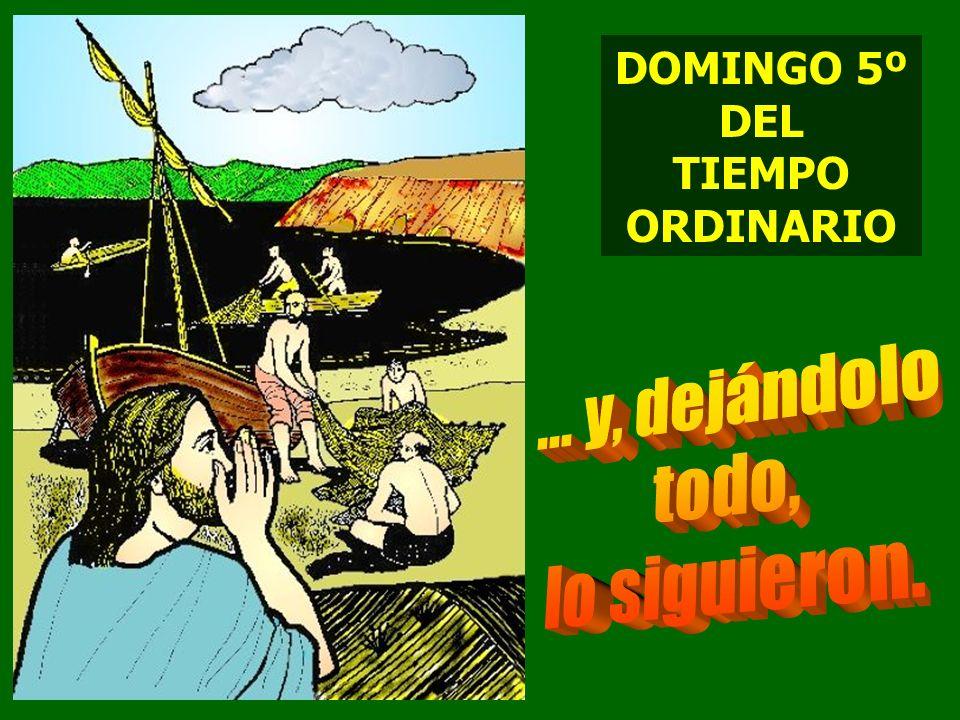 DOMINGO 5º DEL TIEMPO ORDINARIO