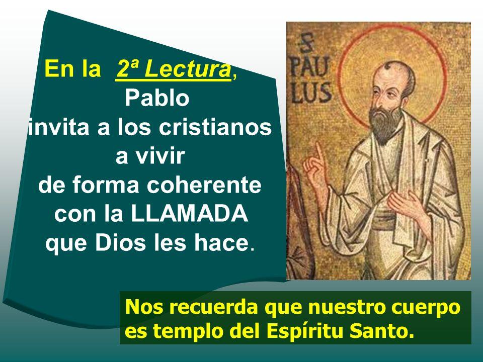 Samuel no reconoce en un principio la voz de Dios. Sólo lo consigue después de cuatro veces y con la ayuda del sacerdote Elí... Samuel responde: Habla