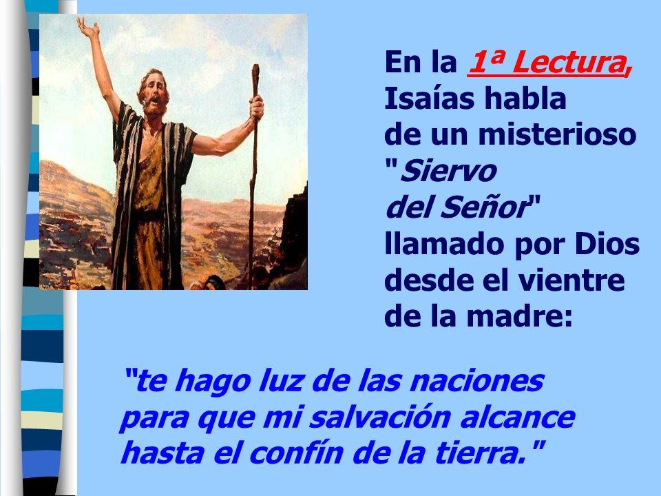 Celebramos hoy la fiesta del nacimiento de JUAN BAUTISTA: Es el único santo que la Liturgia conmemora también el nacimiento. (Generalmente sólo se cel