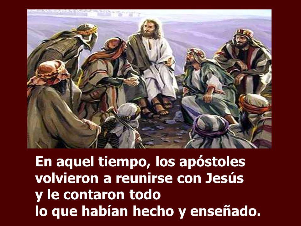 El Evangelio nos presenta DOS ESCENAS en las que Jesús actúa con misericordia y solicitud de un Pastor: acoge a los Discípulos y acoge al Pueblo.