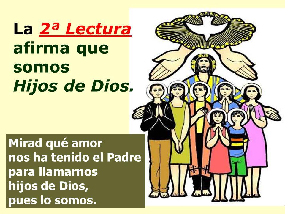 La 1ª lectura nos garantiza que los Santos son muchos. … una muchedumbre inmensa, que nadie podría contar…