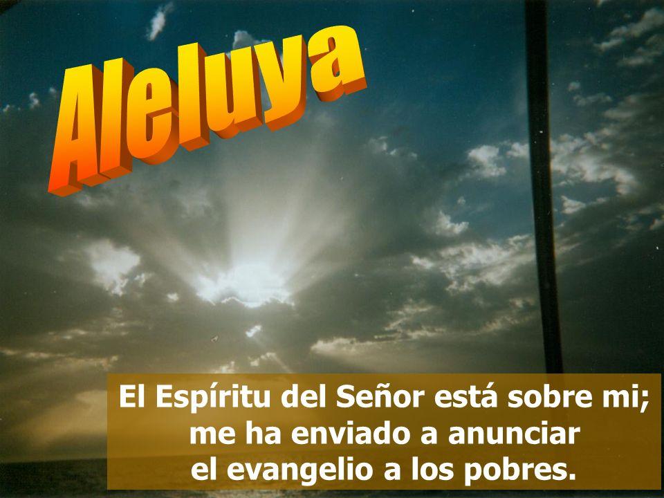 Tañed para el Señor, que hizo proezas, anunciadlas a toda la tierra; gritad jubilosos, habitantes de Sión: «Qué grande es en medio de ti el Santo de I