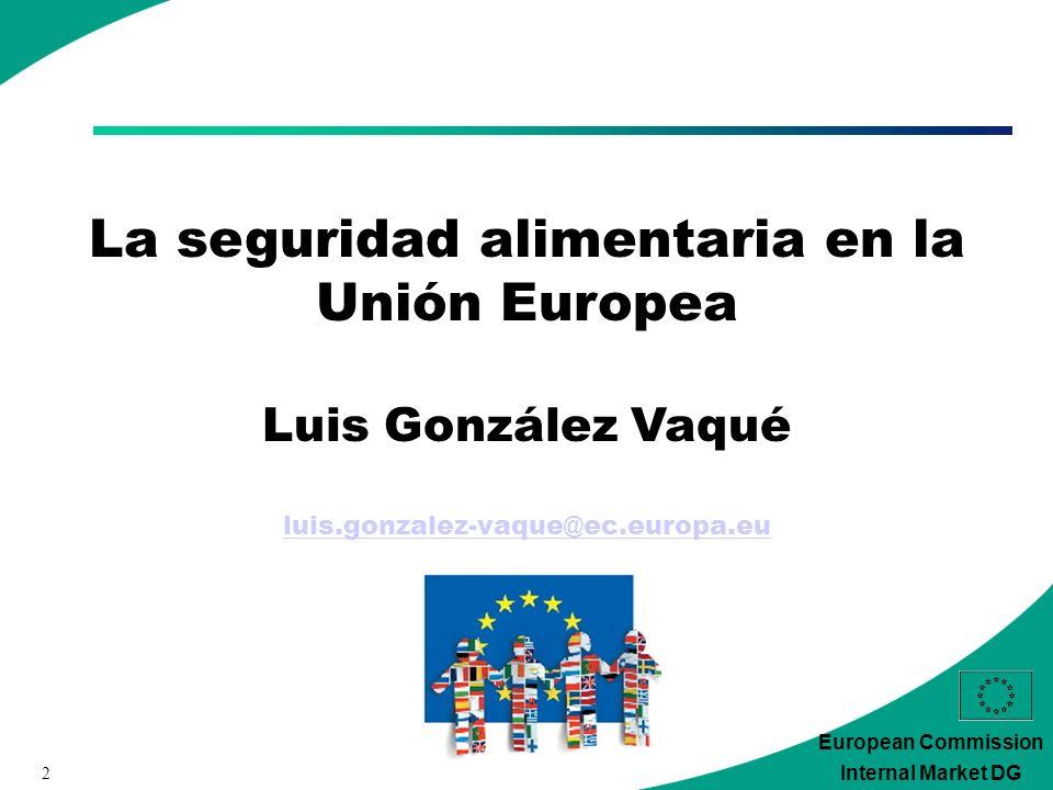 33 European Commission Internal Market DG 4.