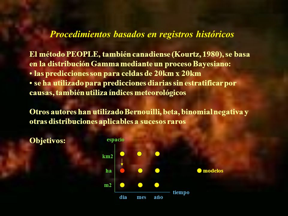 El análisis se aplicó a una base de datos con 66 variables en 34.200 observaciones, de las que sólo 299 son incendios