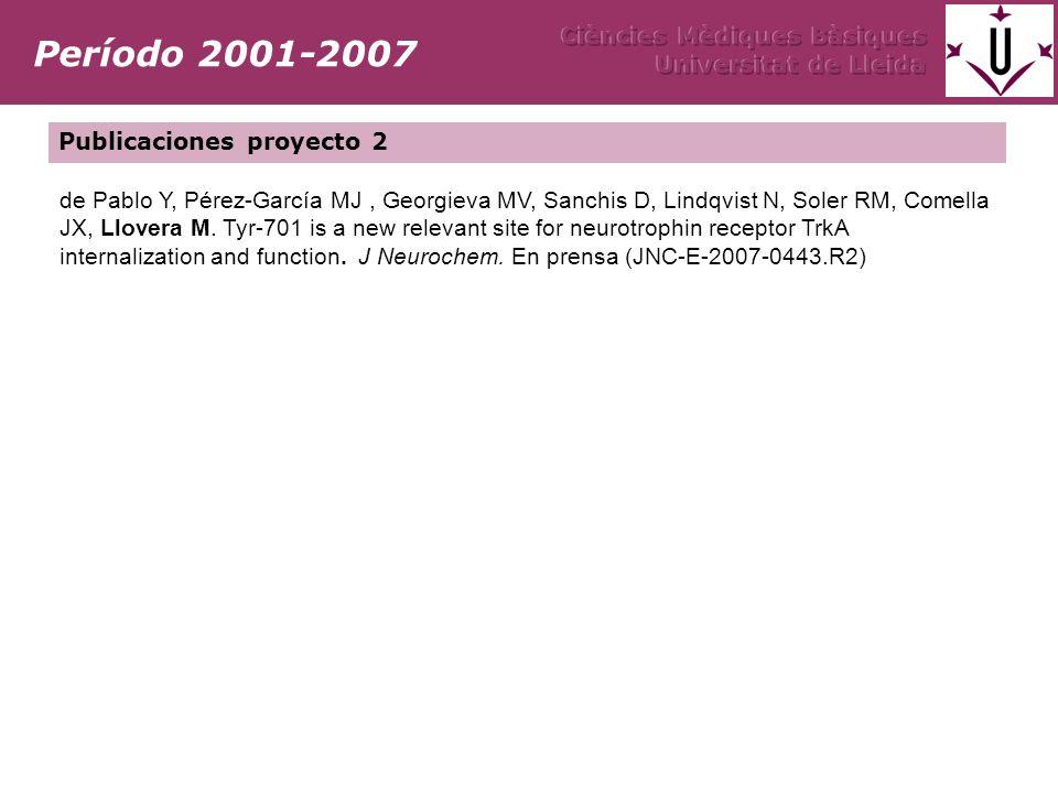 de Pablo Y, Pérez-García MJ, Georgieva MV, Sanchis D, Lindqvist N, Soler RM, Comella JX, Llovera M. Tyr-701 is a new relevant site for neurotrophin re