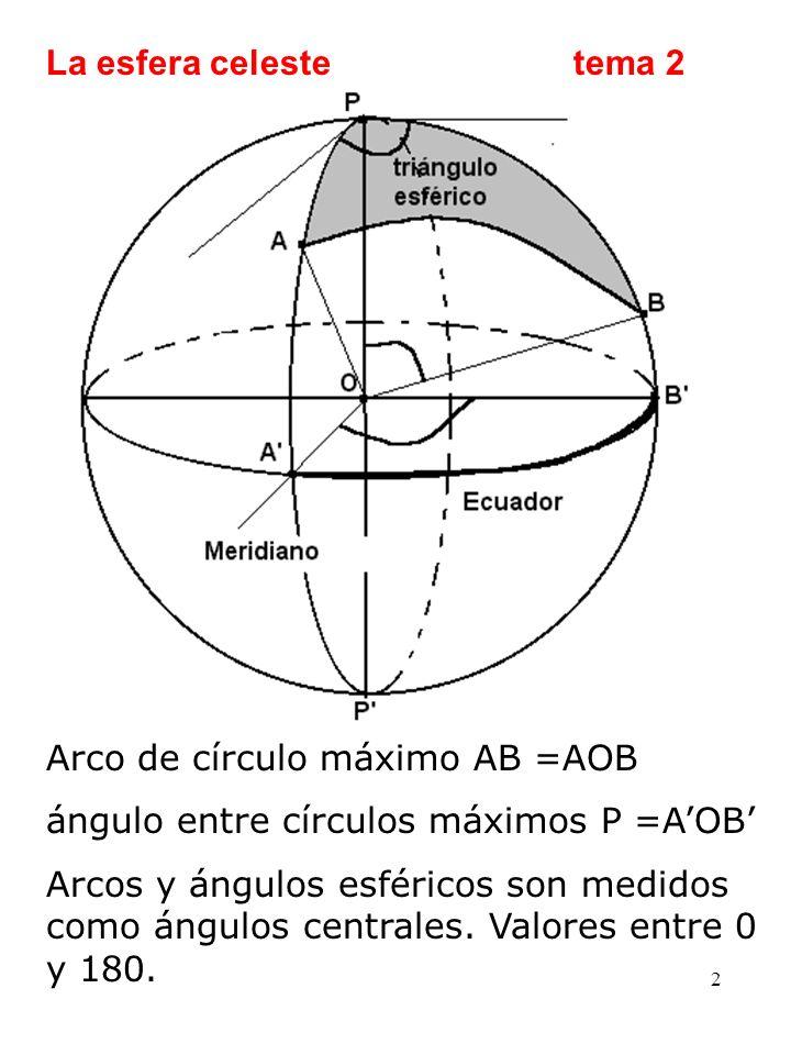 3 Fórmulas de Bessel.Conocidos 3 elementos de un triángulo, pueden calcularse los otros tres.