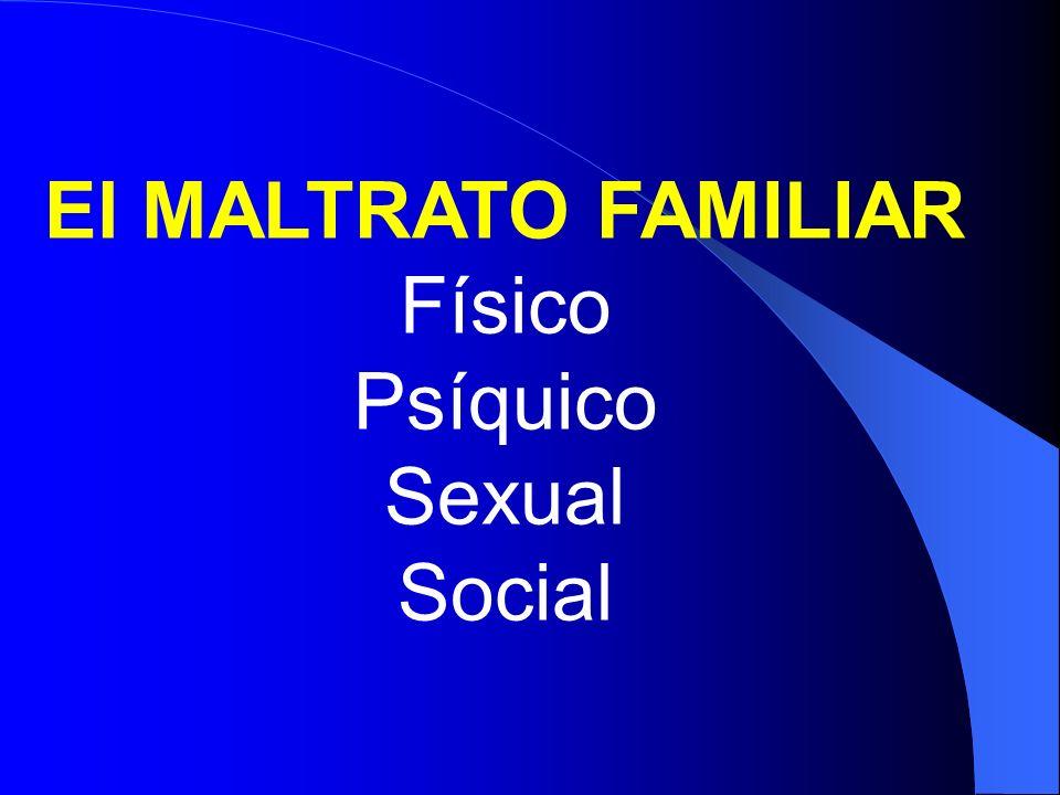 PECULIARIDADES del maltrato (como integrante de la violencia doméstica): Forma parte de nosotros desde épocas inmemoriales Se desarrolla en la intimidad del hogar.