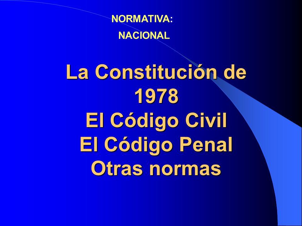 La VÍCTIMA : la gran olvidada del Derecho Penal El Derecho Penal como la ÚLTIMA RAZÓN La NECESIDAD del Derecho Penal.