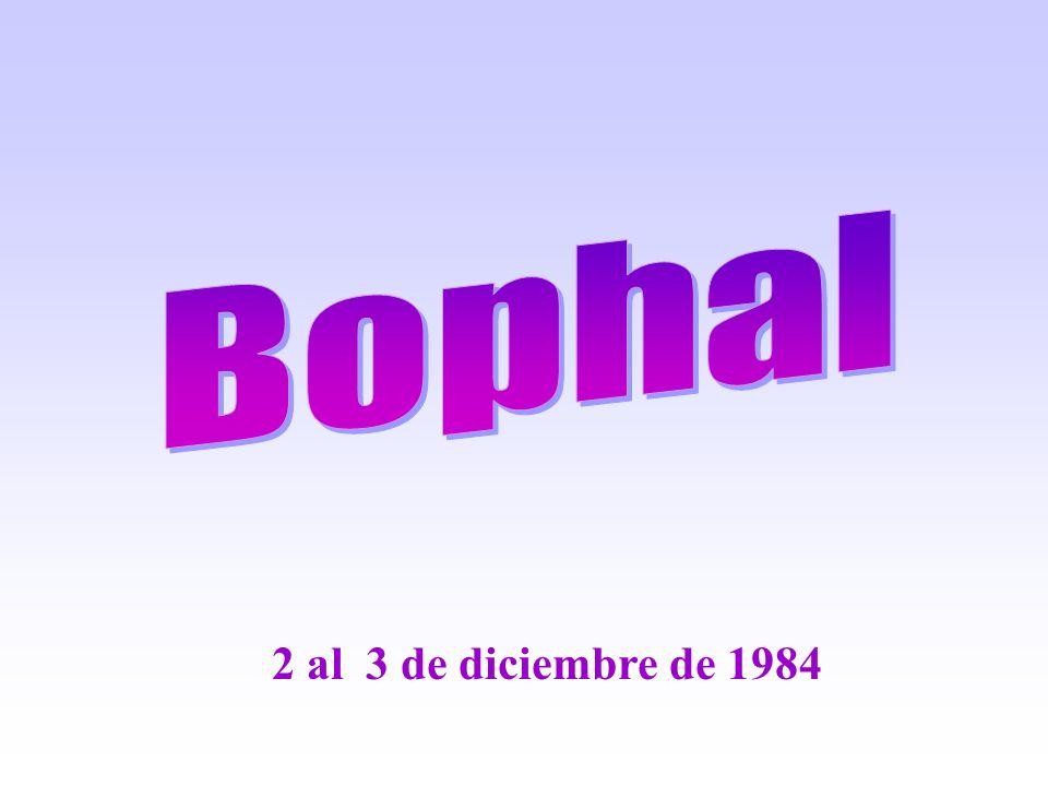 2 al 3 de diciembre de 1984