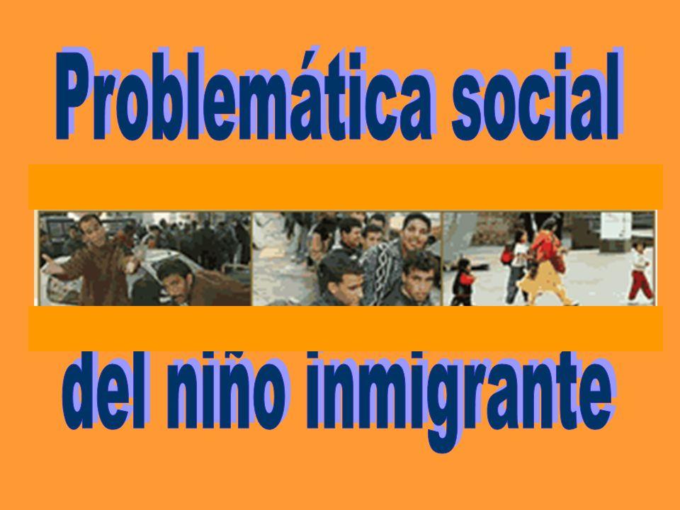 Problema de inadaptación legislativa Problema de educación social Problemas Integración Comunicación Racismo Mafias organizadas Inmigración
