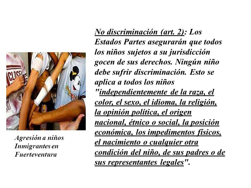 No discriminación (art.