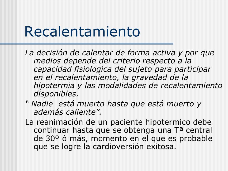 HIPOTERMIA INDUCIDA ¿CÓMO HACERLA?: Enfriamiento regional.