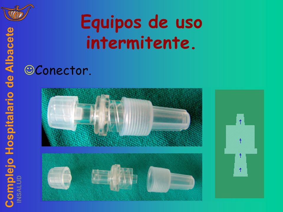 Complejo Hospitalario de Albacete INSALUD Equipos de uso intermitente. Conector.