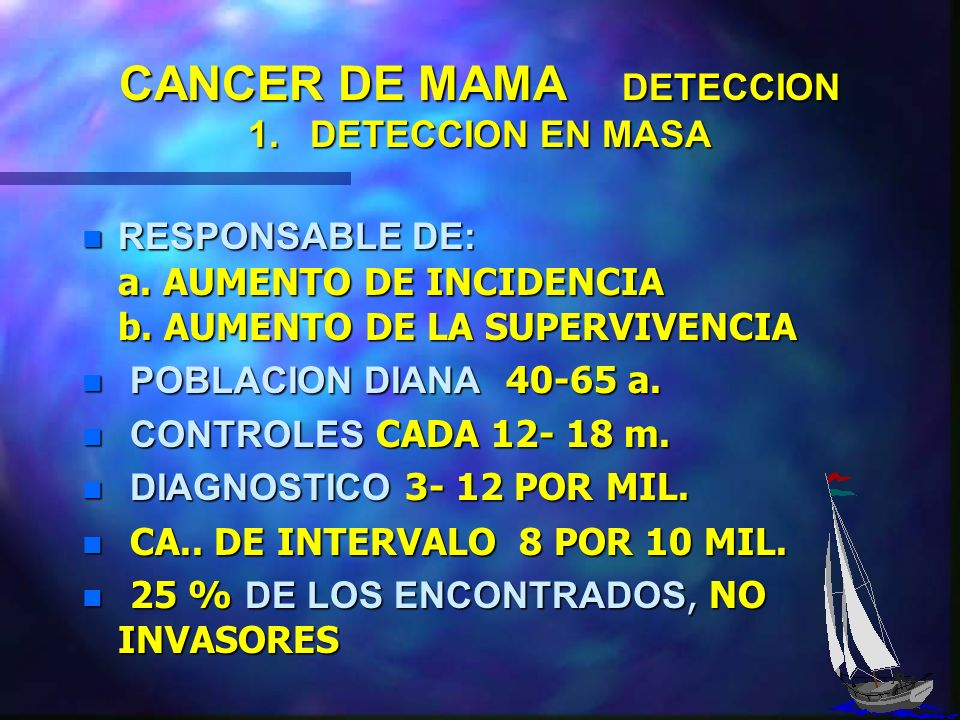 CANCER DE MAMA DETECCION DETECCION EN MASA ( SCREENING ) DETECCION EN MASA ( SCREENING ) DETECCION PRECLÍNICA DETECCION PRECLÍNICA DETECCION CLÍNICA D