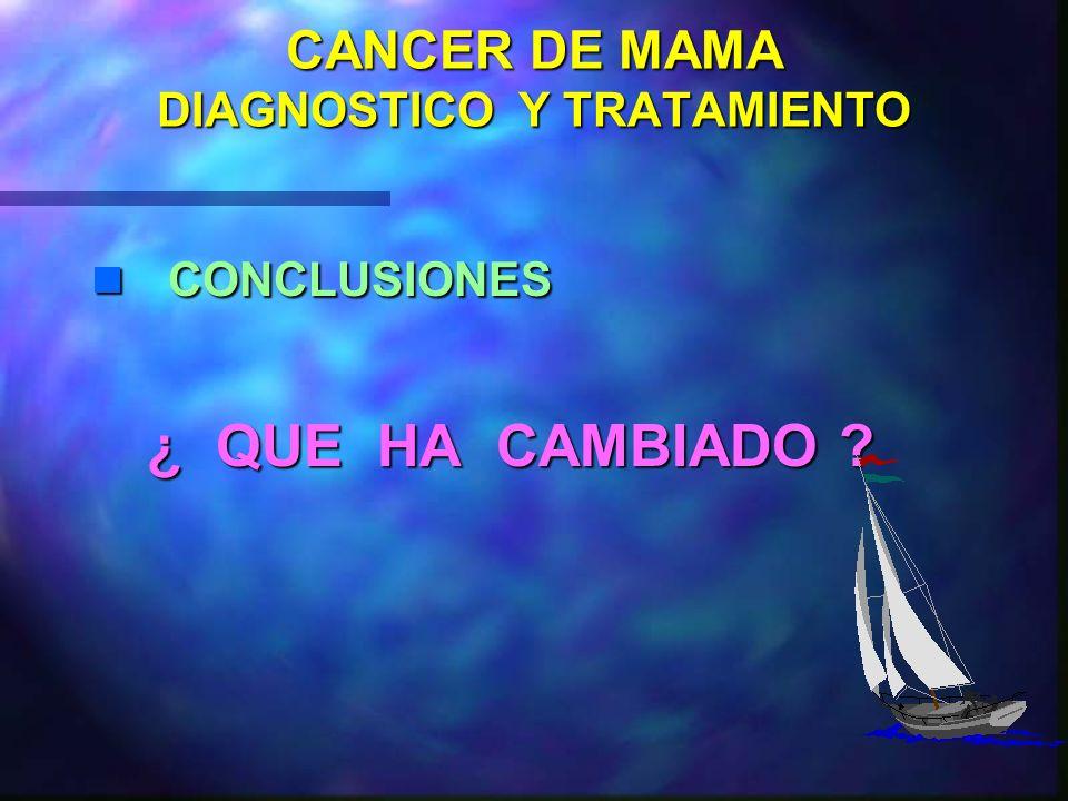 CANCER DE MAMA TRATAMIENTO QUIR. CIRUGIA EN ESTADIOS AVANZADOS BIOPSIA: ESTUDIO HISTOLOGICO Y RE BIOPSIA: ESTUDIO HISTOLOGICO Y RE TRATAMIENTO NEOADYU