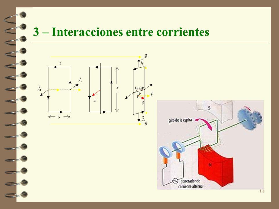 11 3 – Interacciones entre corrientes