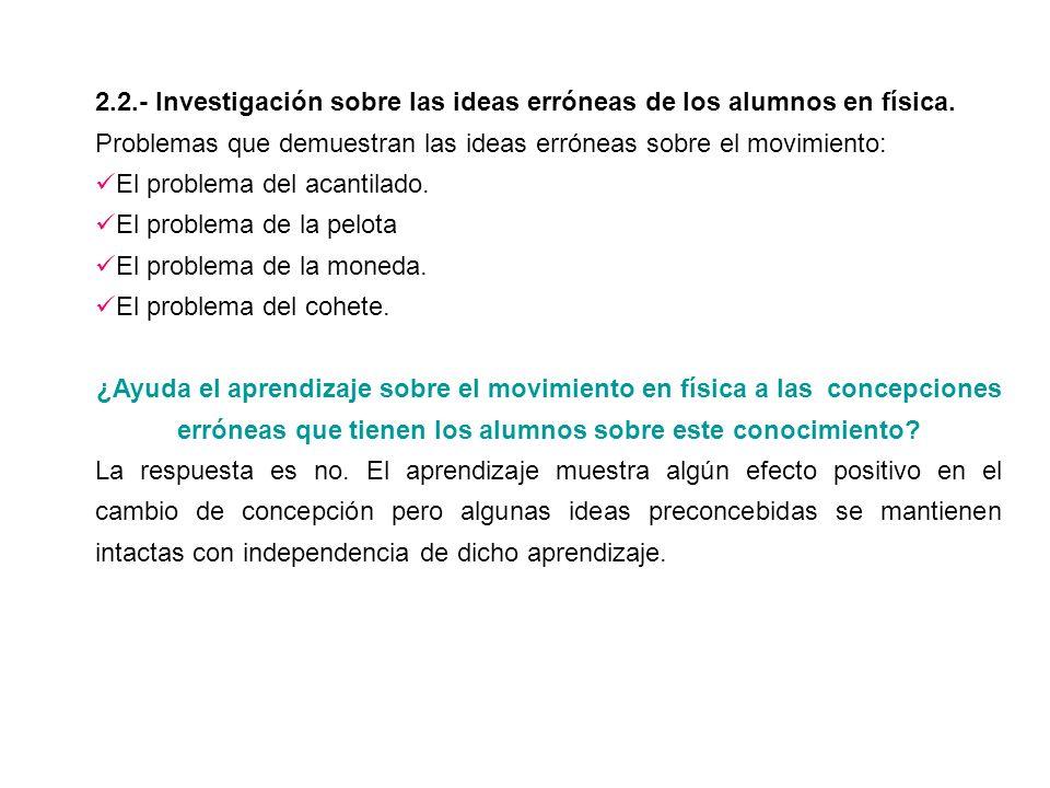 2.3.- Implicaciones para la enseñanza.Método de enseñanza.