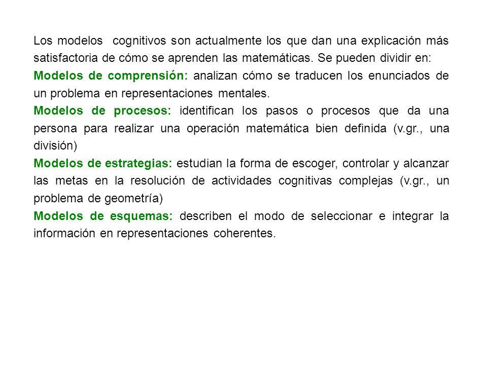 2.- Ámbitos del conocimiento matemático.