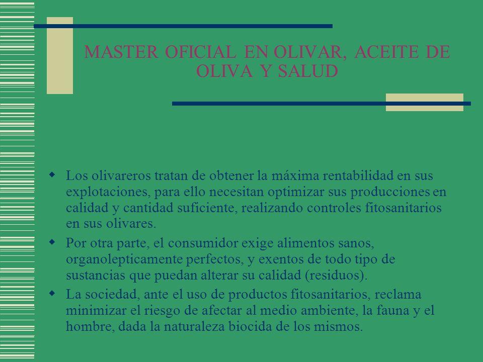 MASTER OFICIAL EN OLIVAR, ACEITE DE OLIVA Y SALUD LEY SANIDAD VEGETAL Infracciones Infracciones leves (Art.
