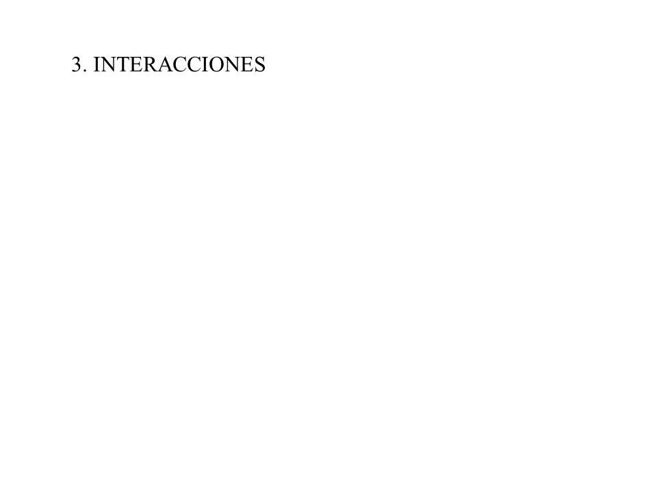3. INTERACCIONES