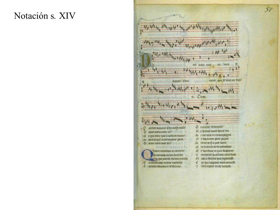 Notación s. XIV