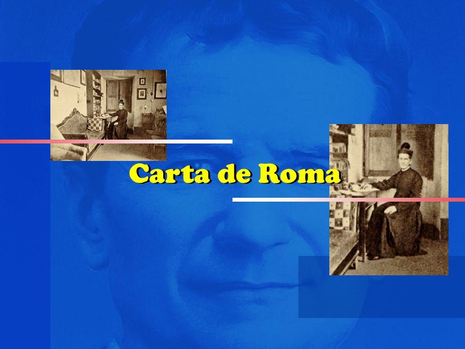 Carta de Roma Carta de Roma Carta de Roma