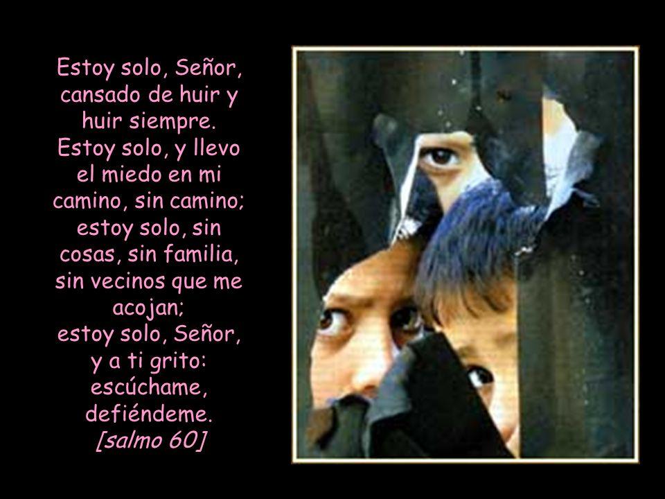 Te busca con pasión y con fuerza, oh Dios vivo, Dios de la Vida, y me pregunto a cada paso: ¿Cuándo veré tu rostro, tu faz, oh Dios? [salmo 41-42] ¡Có