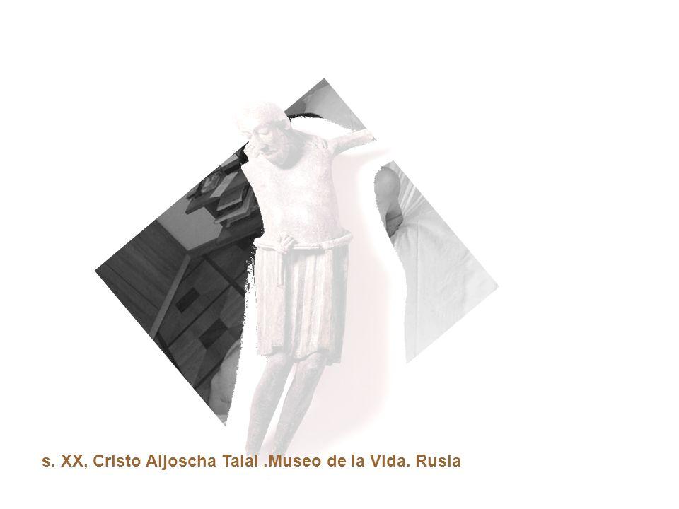 s. XX, Cristo Aljoscha Talai.Museo de la Vida. Rusia